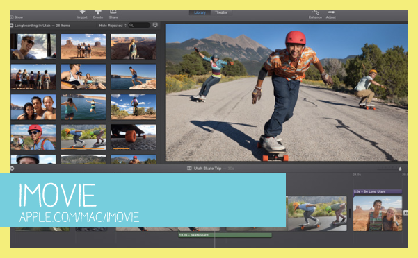 how to use pictures in imovie