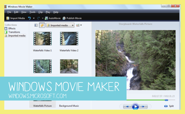 Windows Movie Maker Video Editing Software for Home Movies - GoProMom.com