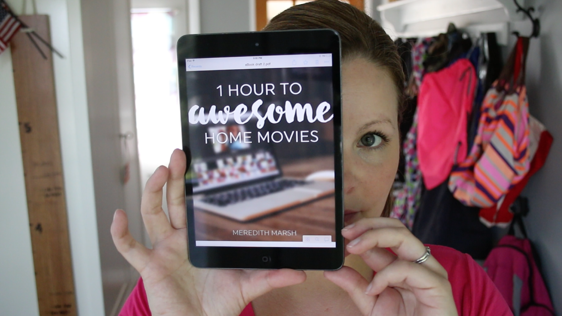 One Hour to Awesome Home Movies - VidProMom