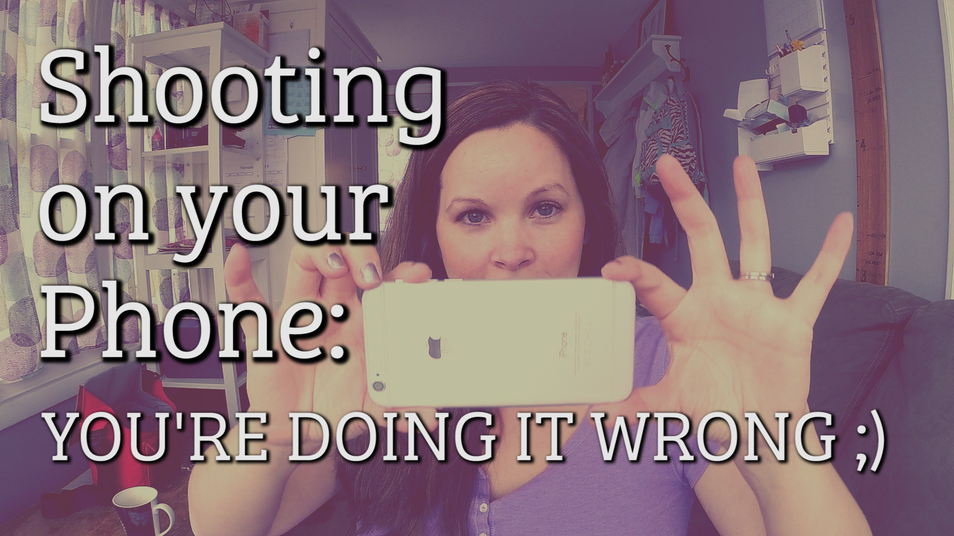Quick Tip: Shooting on your iPhone [You're Doing it Wrong]