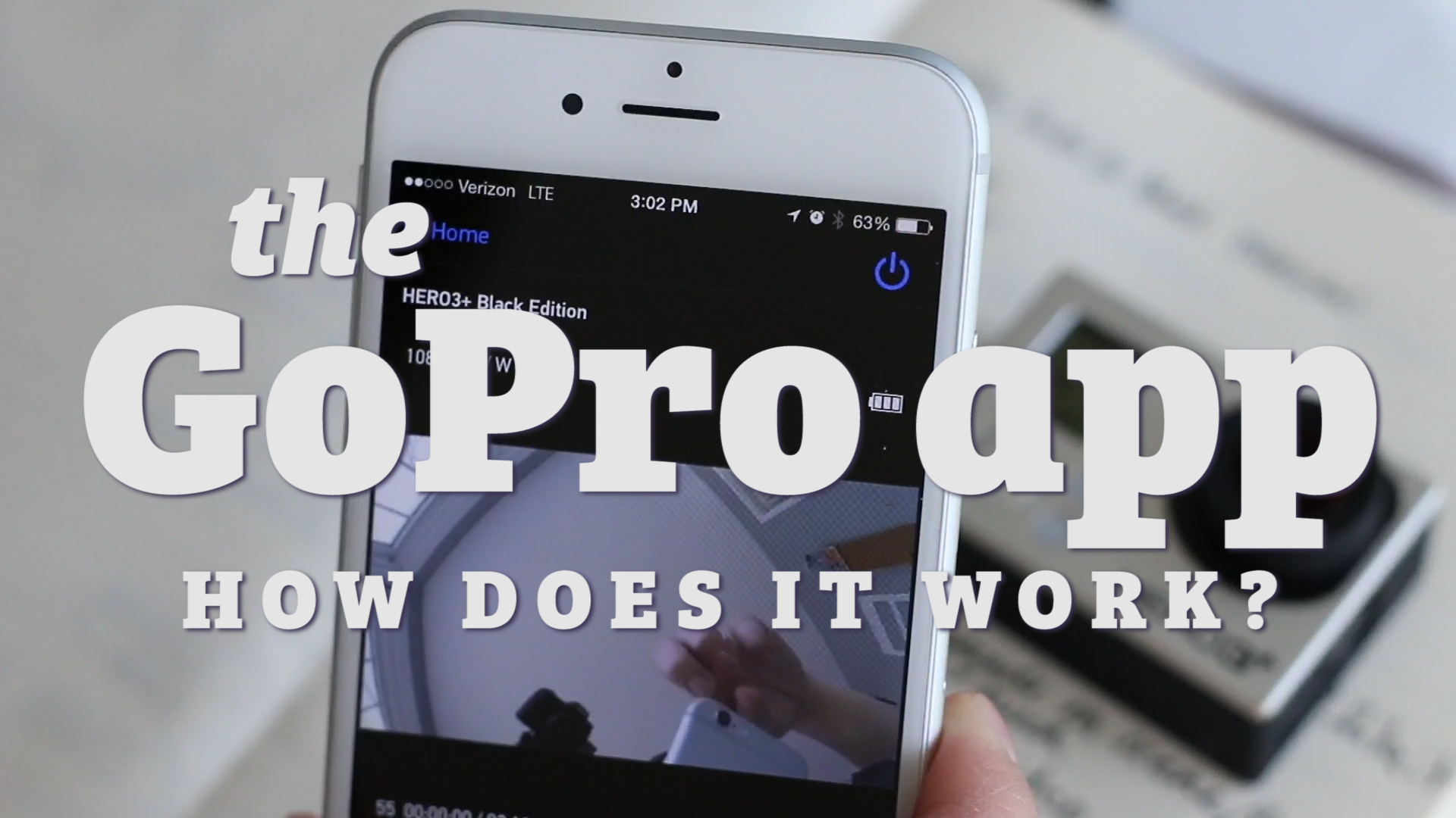 How Does the GoPro iPhone App Work