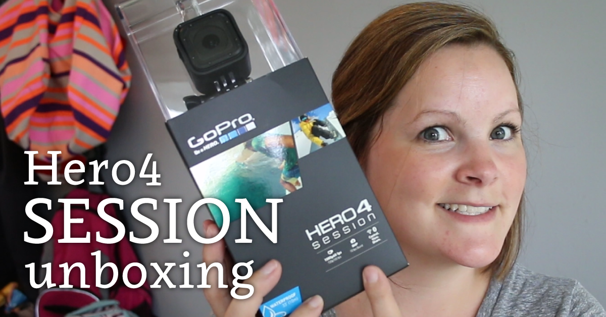 Hero4 Session Unboxing - NEW GoPro Hero4 Session!