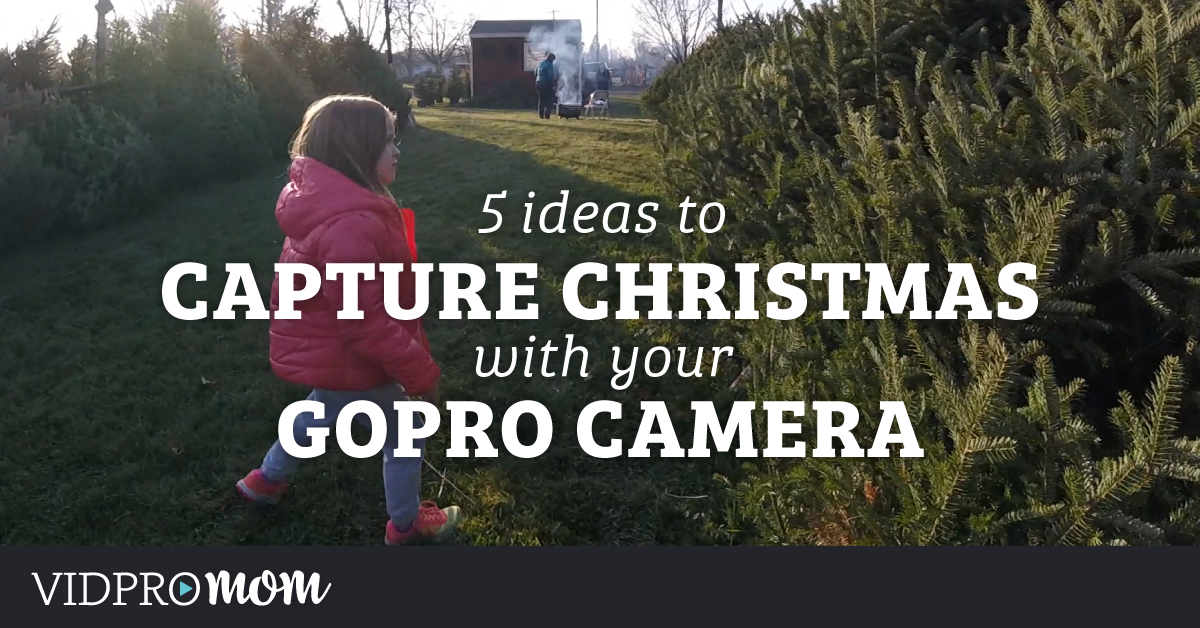 Capture Christmas on your GoPro – 5 Ideas