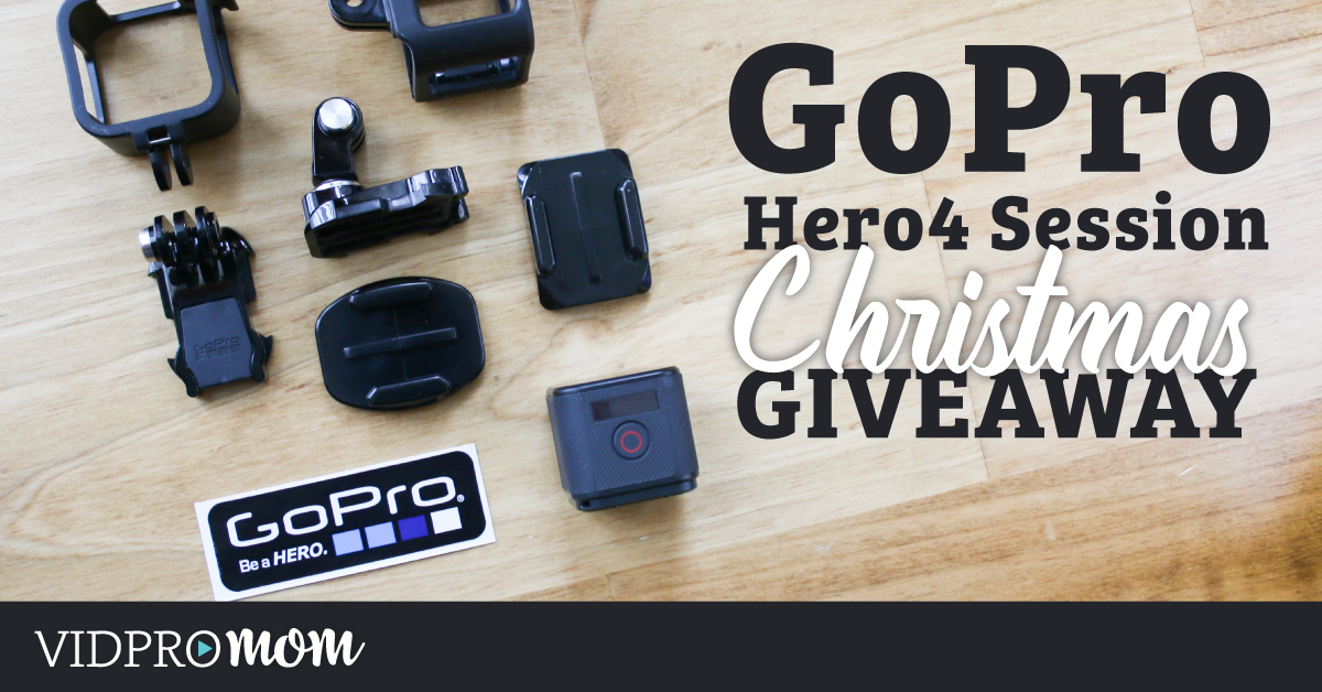 Hero4 Session Christmas Giveaway