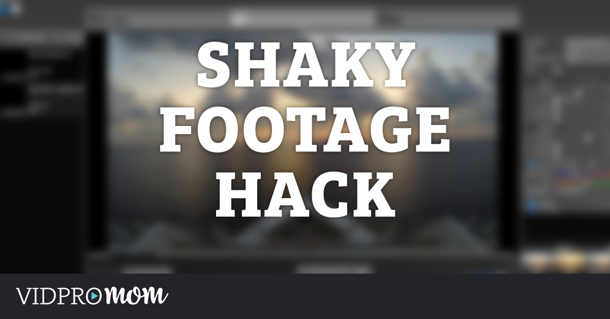 How To Fix Shaky Footage (GoPro Studio Hack)