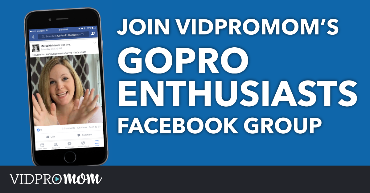 Join VidProMom's Private Facebook Group