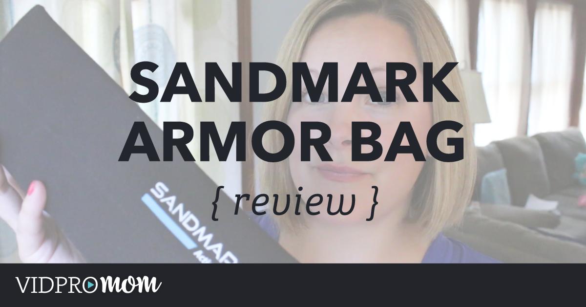 SANDMARC Armor Bag [Review]