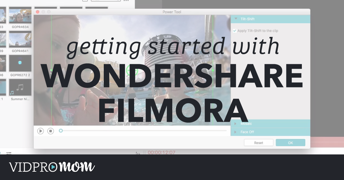 Wondershare Filmora Video Editing – Getting Started