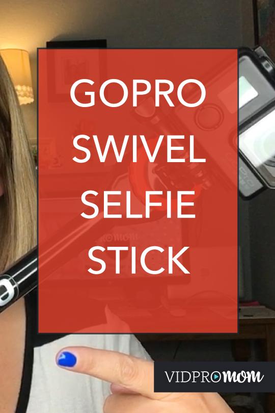 GoPro Swivel Mount: Spivo Stick is Sweet!