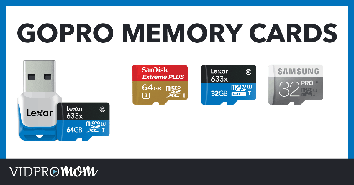 Gopro Memory Cards Whats The Best Sd Card For Gopro Vidpromom