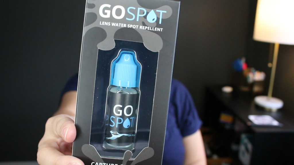 GoSpot water drop repellent
