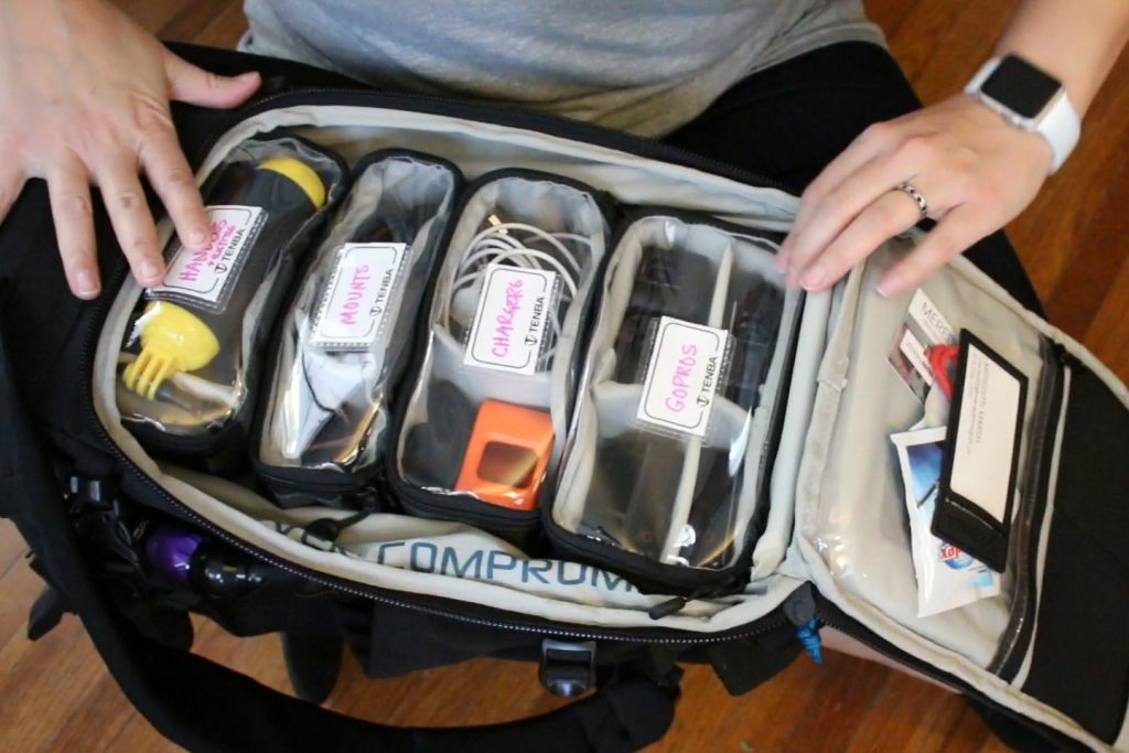 Backpack for GoPro Tenba Action Pack 14L