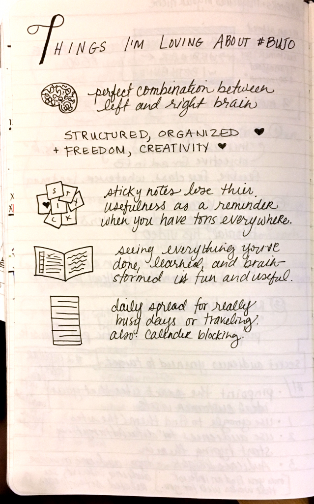 Bullet Journal for Beginners - Why I Love About BuJo