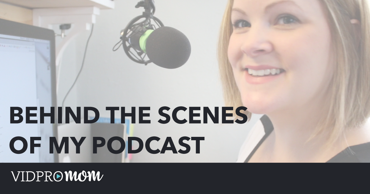 VidPro Studio Show – Behind The Scenes of my Podcast