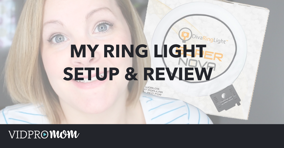My Diva Ring Light Setup & Review