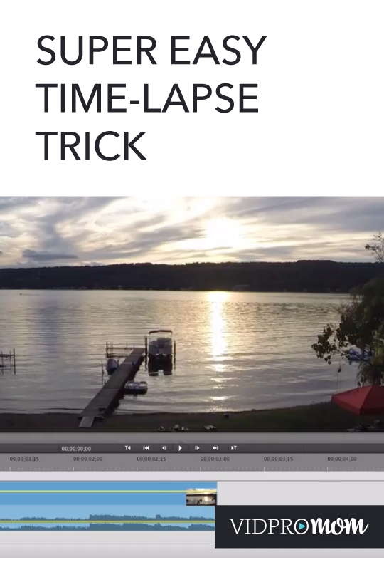 Time Lapse Editing Tip (Easy!)