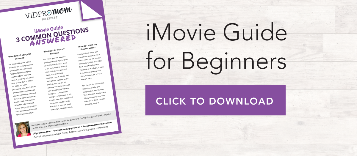 iMovie Guide