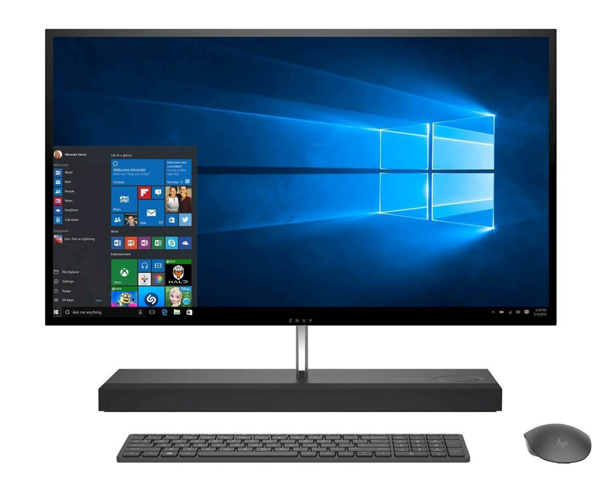 "Laptop vs. Desktop for video editing? HP ENVY 27"" with 16GB of RAM and 256GB Solid State Drive + 1TB Hard Drive from Best Buy"