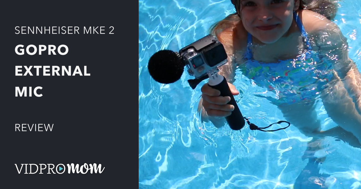 GoPro external Mic Review – Sennheiser MKE2 elements