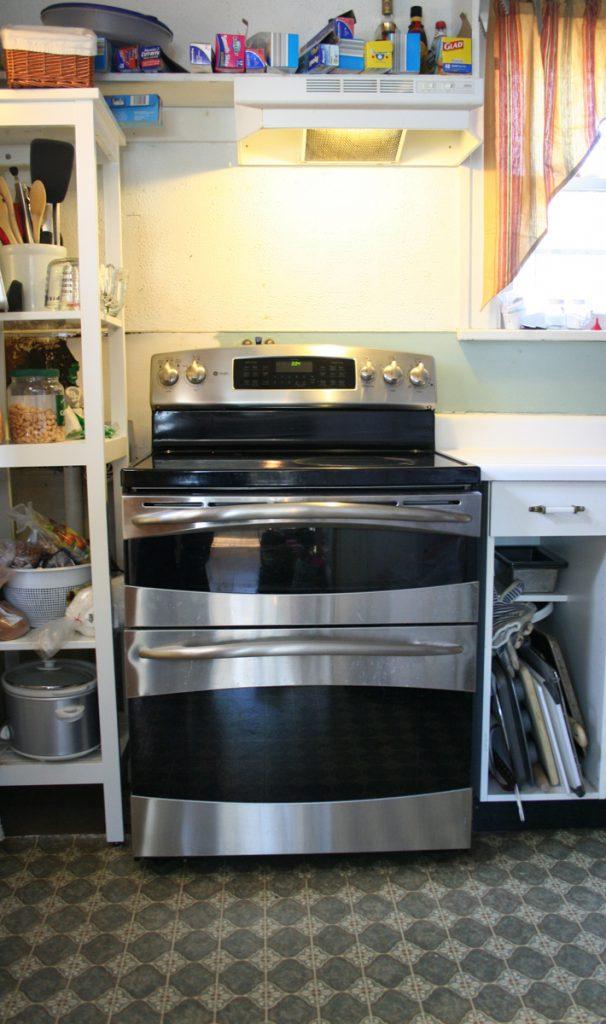 DIY kitchen remodel before