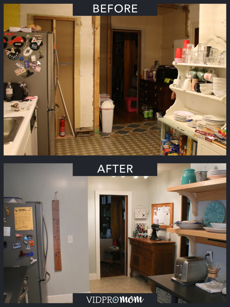 My husband and I decided to tackle our kitchen remodel mostly ourselves. Are you brave enough to take on a DIY kitchen remodel?! Check out the transformation of our completely disgusting, TOTALLY embarrassing kitchen to a light, fresh, budget-friendly kitchen.