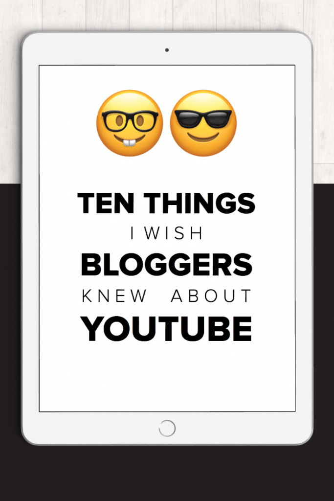 Blogging and YouTube go together like rainbows and unicorns... Here are 10 things I wish other bloggers knew about YouTube