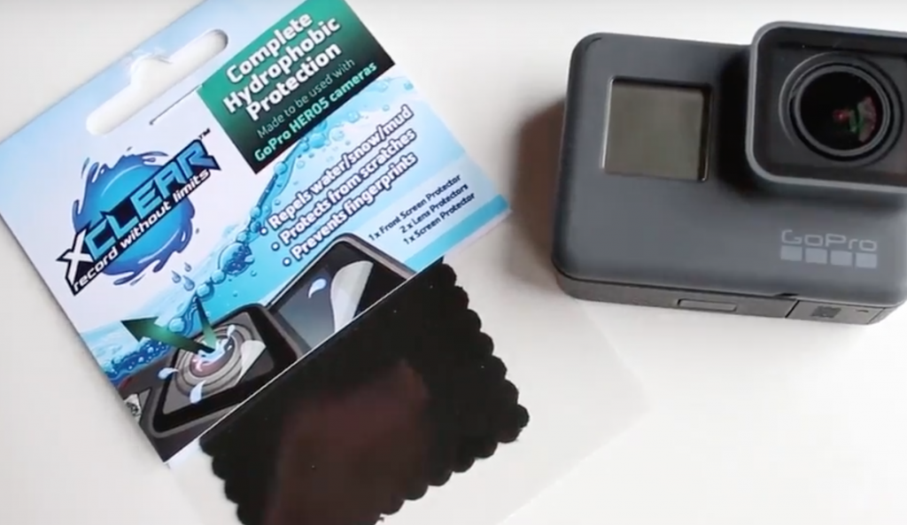 X Clear water protection for gopro