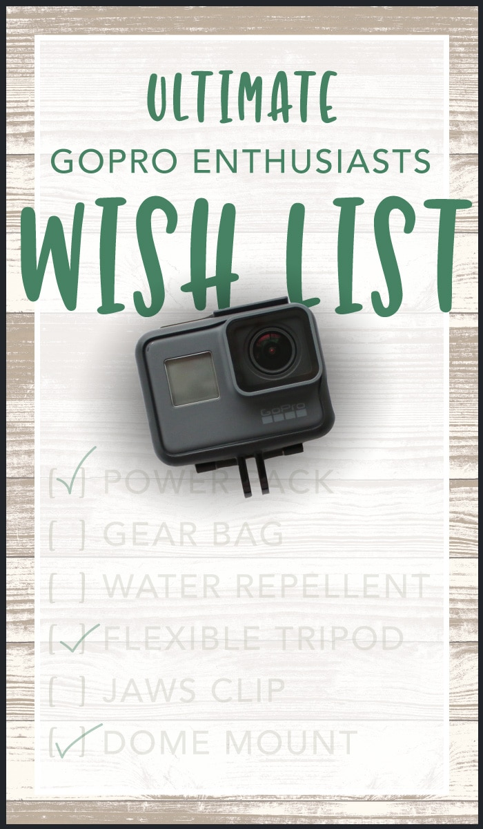 Shopping for Holidays, birthdays, or just because? I keep these GoPro gift ideas up to date with direct links to the lowest prices...the Ultimate Wish List!
