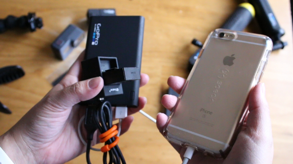 gopro power pack charges anything