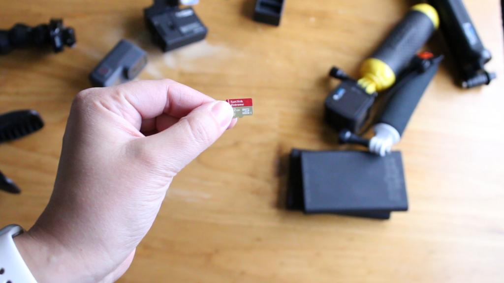 memory card for GoPro - SanDisk Extreme micro SD card