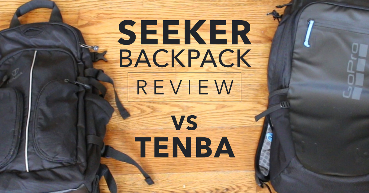 GoPro Backpack Review – Seeker vs Tenba