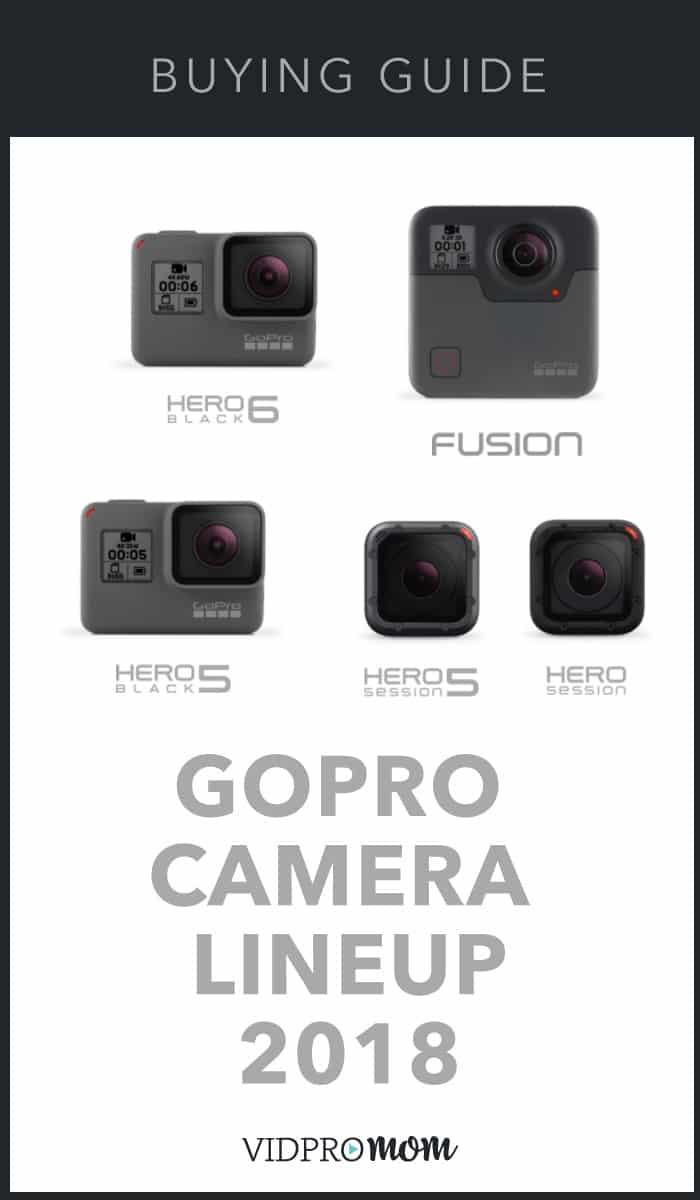 GoPro Comparison 2018
