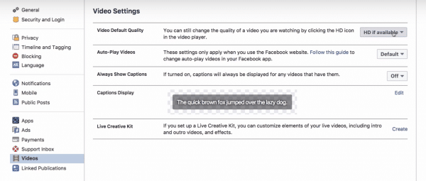 Adjust Your Facebook Video Viewing Settings For Better Quality
