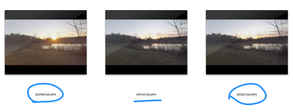 Gopro Time Lapse Files Broken Up On The Memory Card