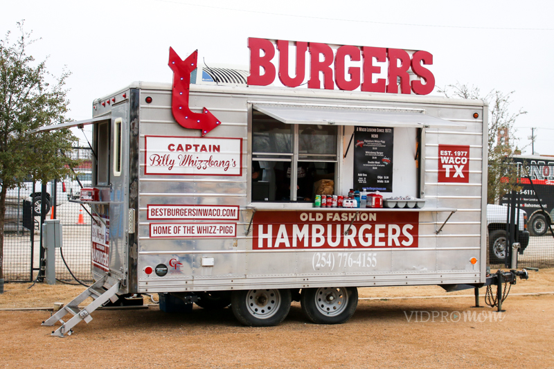 Magnolia Market Food Truck Captain Billy Wizzbang's Burgers
