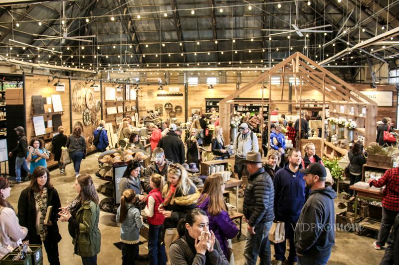 Magnolia Market Was Packed With Tons Of Shoppers