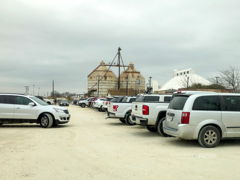 Parking At Magnolia Market At The Silos