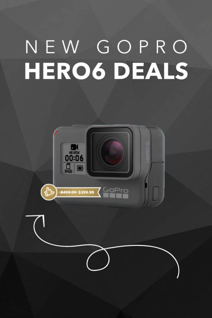 Latest in GoPro News: a price reduction in the new Hero6 Models!
