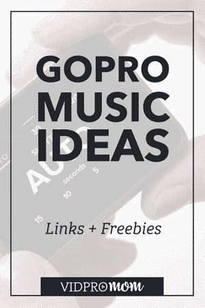 Looking for some awesome GoPro Music ideas? Here are some of my favorite resources for GoPro background music