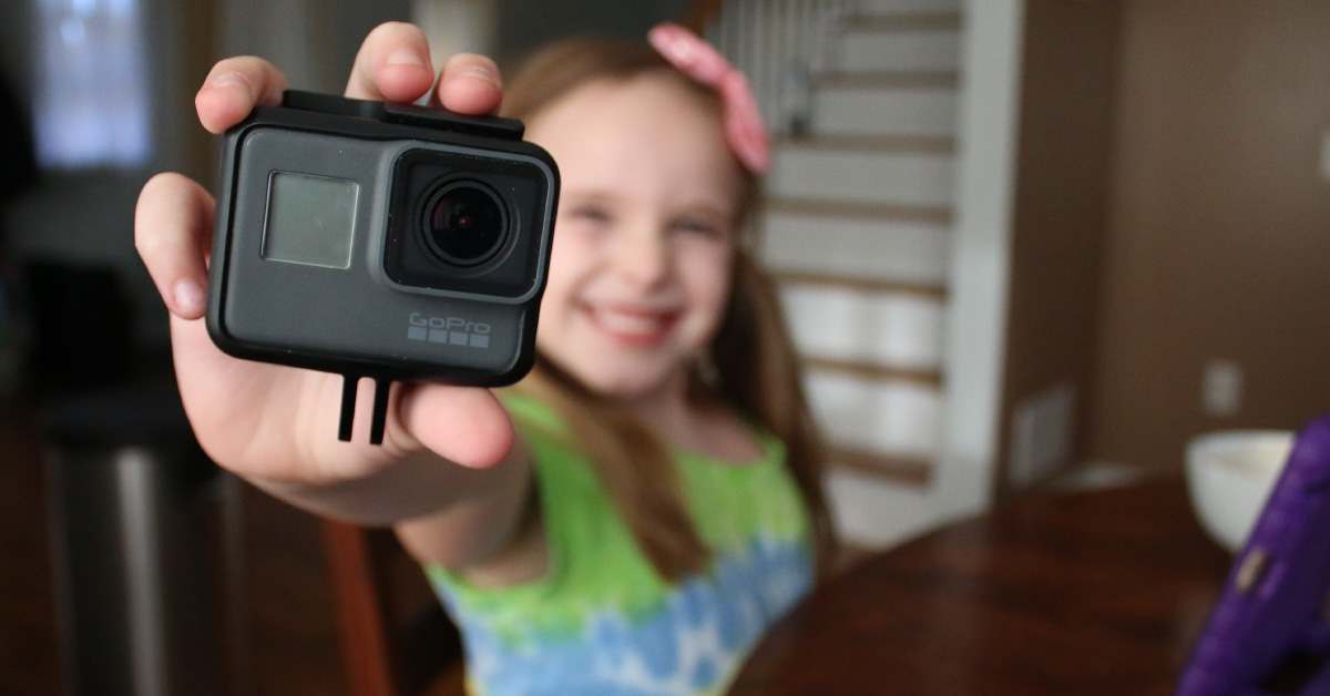 Does it make sense to get a GoPro for kids? GoPro cameras make a great kids camera!