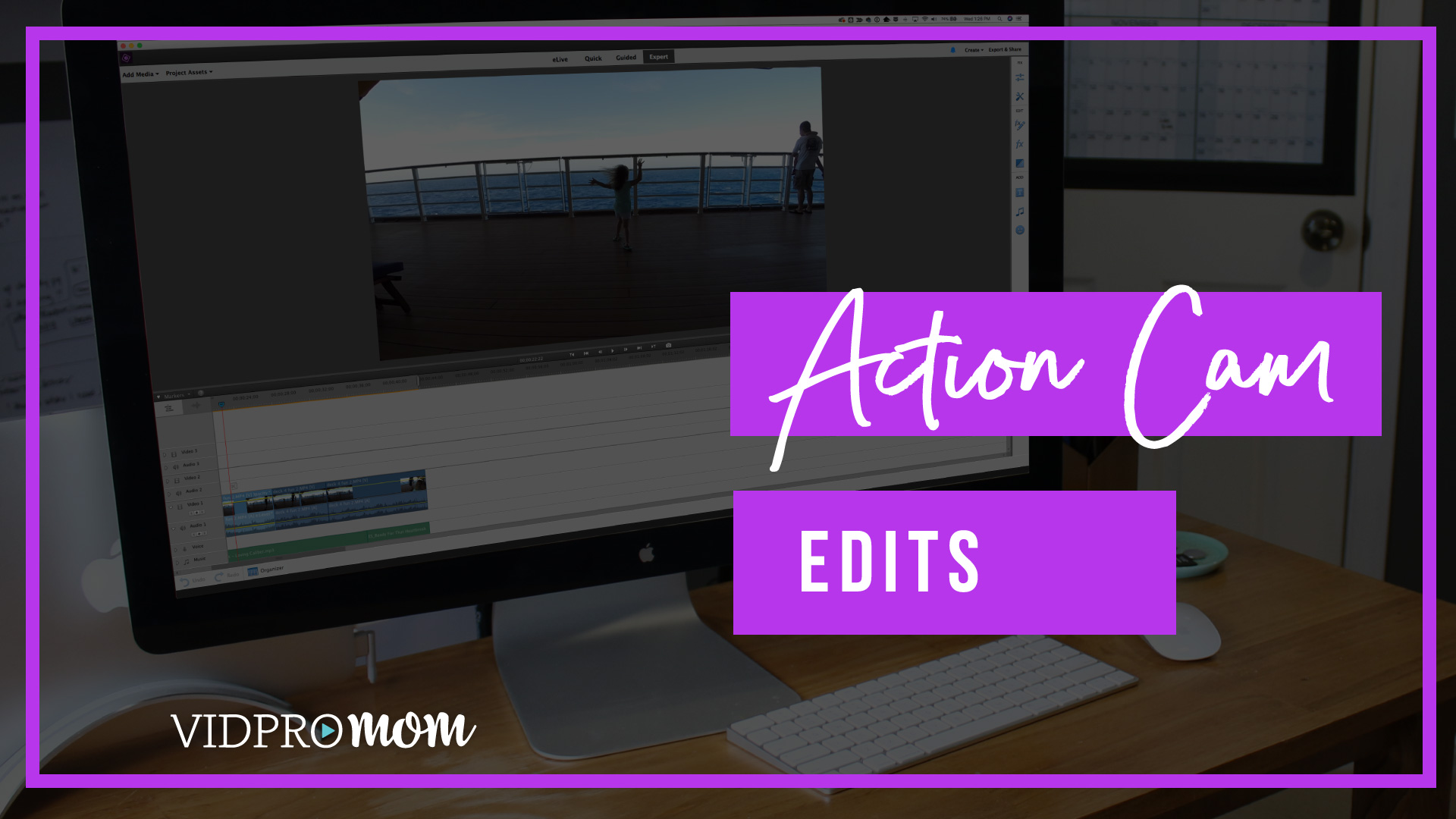 Action Cam Guided Edit Premiere Elements 2018 F