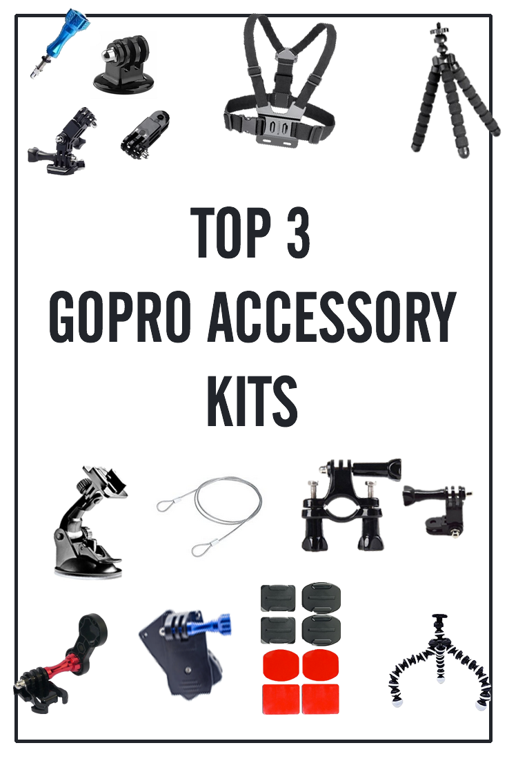 Gopro Accessories Kit Top 3