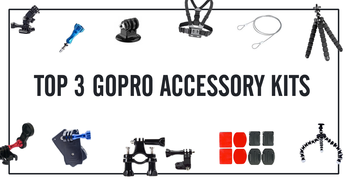 3 Most Popular GoPro Accessories Kits