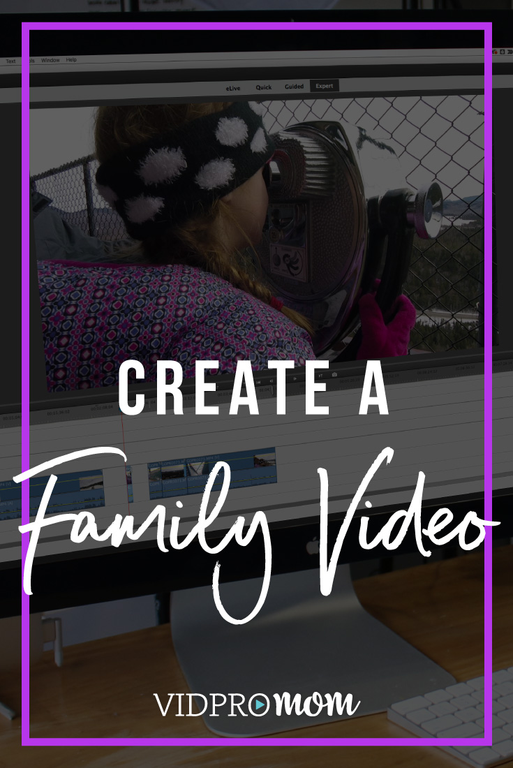 Create Family Video Premiere Elements 2018
