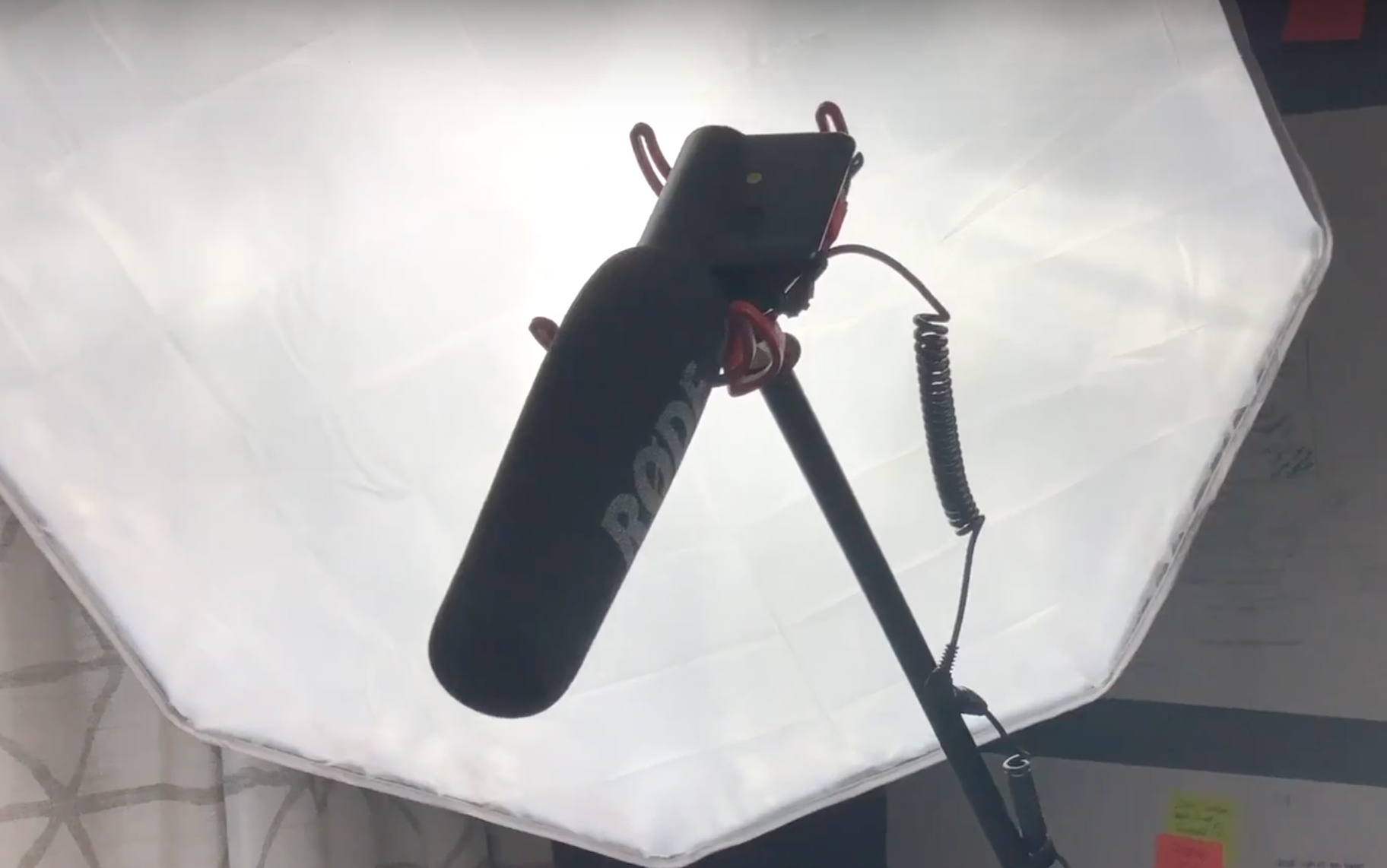 Home Studio Set Up For Youtube Rode Videomic