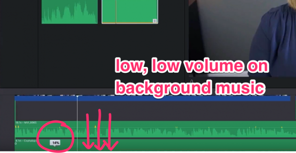How To Make A Video Look Professional With Imovie Lower Volume On Background Music