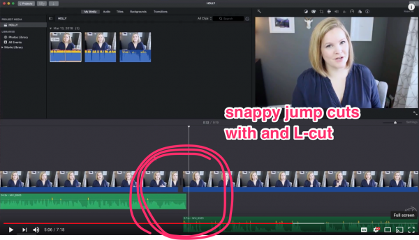 How To Make A Video Look Professional With Imovie Snappy Jump Cuts