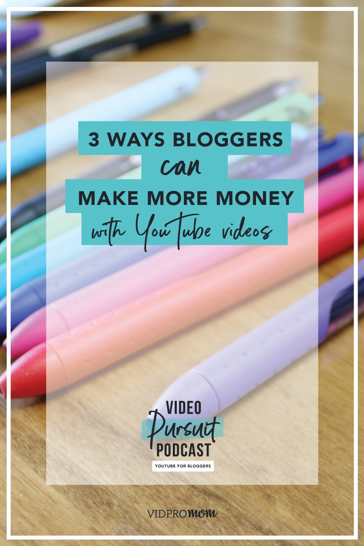 For bloggers who are a bit wishy-washy about creating youtube content, this will entice you a bit!