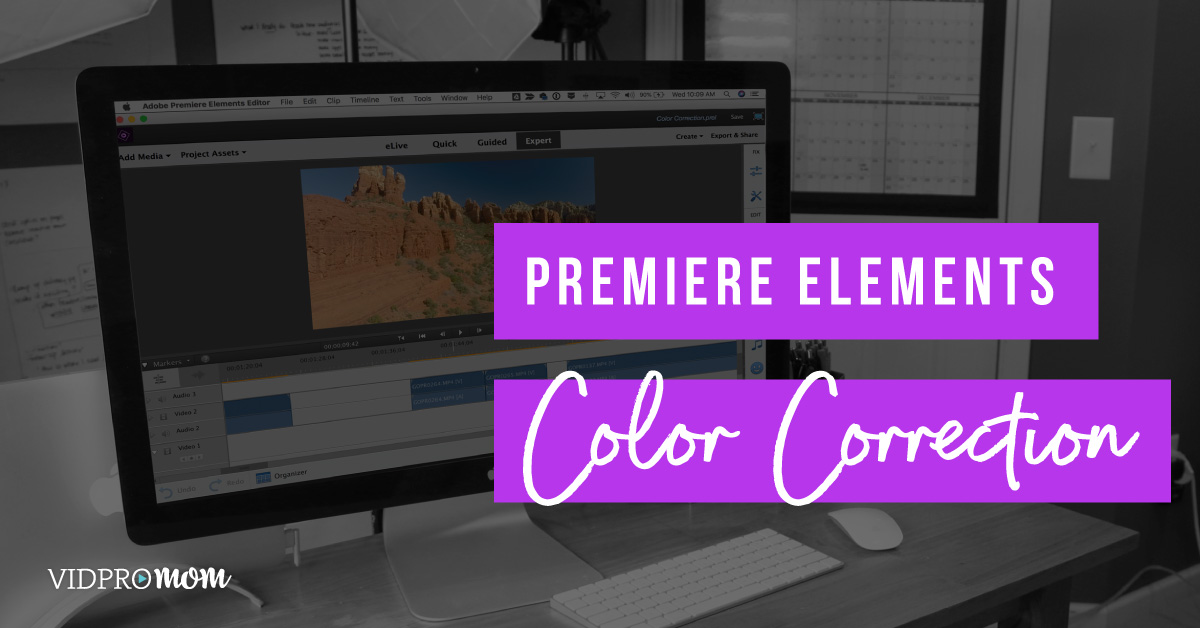 Color Correction In Premiere Elements 2018