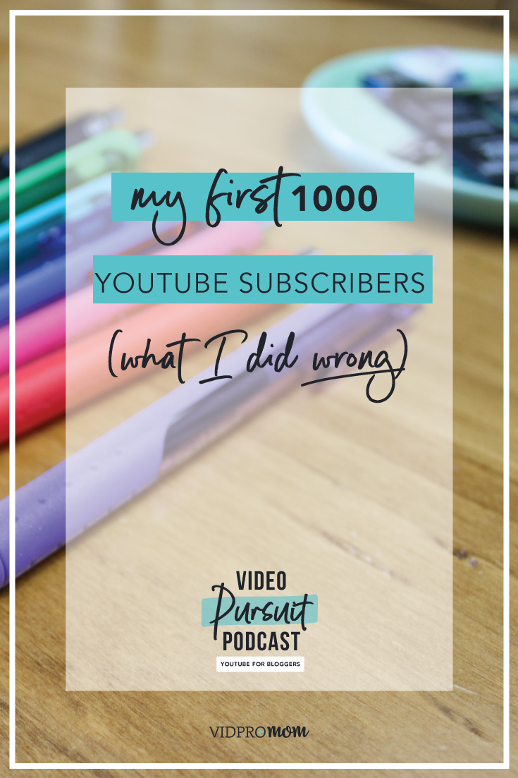 The 1000 YouTube subscribers milestone is kind of a big one for new YouTubers because YouTube changed their monetization requirements in 2018. In order to monetize your YouTube channel with Google AdWords, you have to have 1000 subscribers at a minimum (plus at least 4,000 hours of annual viewing time).
